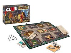 The Classic Game of Clue Gets a Dungeons & Dragons Makeover. Mialee the Wizard is Miss Scarlet. SO appropriate if you know me...