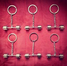 Unbroken Designs Barbell Keychain #crossfitmen #muscleup #squats #abs #strong #kettlebell #crossfit #barbell #dumbbell #fitnessjewelry #fitness #exercise #crossfitgirls #girlsofcrossfit #weightlifting #bodybuilding #olympicweightlifting #girlswholift #likeagirl #training #athlete #wod