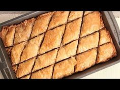 Homemade Baklava Recipe - Laura in the Kitchen - Internet Cooking Show Starring Laura Vitale