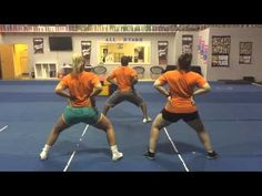 Triple Threat All Stars Team Placement Athlete Evaluation Dance 2015 - YouTube Cool Cheer Stunts, Cheer Jumps, Cheer Tryouts, Cheer Coaches, Youth Cheer, Cheerleading Cheers, Cheer Dance Routines, Cheer Captain, Cute Cheer Pictures