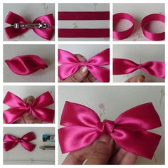 These are the BEST wonderful diy easy and cute bow hairclip. Download and Save this ideas about The 20 Best Ideas for Diy Hair Clippies  Now