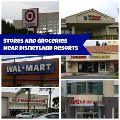 Disneyland Resorts Area Shopping for those looking for Outlet Malls in Southern California or just a convenience store within walking distance of Disneyland. #Disneyland