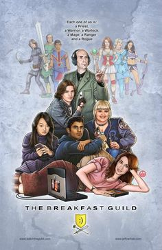 The Guild.... Lovvvvvvvvvvve this show! And I love the mash-up here :3 two of my favorite things.