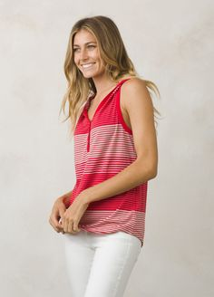 I love the prAna Midsummer Tank! Check it out and more at www.prAna.com