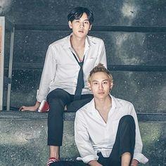 Foolish Asian Drama Life : Until We Meet Again The Series ด้ายแดง Bad Romance, Cute Gay Couples, Influential People, One Back, Thai Drama, We Meet Again, Cute Actors, Meet The Team, Big Love