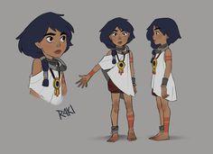 ArtStation - Arkavi - Character design, Jenny Harder