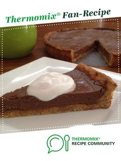 Recipe Chocolate Custard Tart (Gluten, Dairy and Refined Sugar Free) by Thermo Sensation, learn to make this recipe easily in your kitchen machine and discover other Thermomix recipes in Desserts & sweets. Coconut Syrup, Coconut Sugar, Chocolate Custard, Chocolate Recipes, Sweets Recipes, Desserts, Custard Tart, Cacao Beans, Rice Milk
