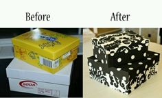 start saving your shoe boxes! we can paint those too!