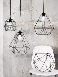 15 Beautiful Geometric Lamp Designs