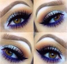 Add a twist with purple