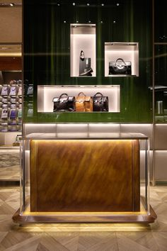 Berluti Osaka store designed by Curiostiy