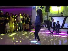 "Best Retro Father & daughter + little brother performance Quinceanera. Michael Jackson ""Billy Jean"" & ""I'll be there"", ""Barbie Girl"". Surprise Dance, Surprise Wedding, Chambelan, Billy Jean, Dance Music Videos, Father Daughter, Quinceanera, Michael Jackson, Sweet 16"