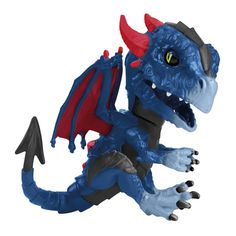 Fingerlings Untamed Dragon - Shockwave - One Colour - Lps Pets, Pet Toys, Transformer Party, Best Toddler Toys, Barbie Toys, Dinosaur Birthday, Cool Toys, Bowser, Action Figures