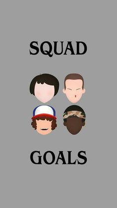 #SquadGoals #ElevenLovesEggos #MikeLovesEleven