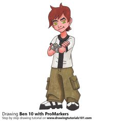 Ben 10 with ProMarkers