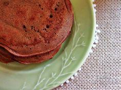 Telita na Cozinha: panquecas de chocolate