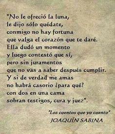 #sabina no hay fortuna que valga el corazón que te daré