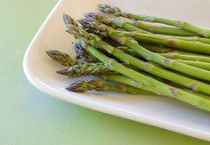 Roasted vegetable and linguine salad  I love asparagus!