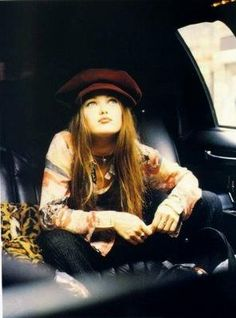 1990's fashion - Vanessa Paradis by Dan Howell