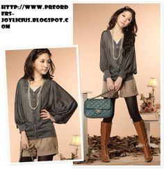 outfit blusa gris oscuro
