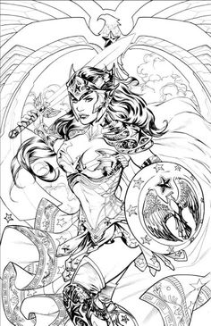 Wonder Woman variant cover by Emanuela Lupacchino