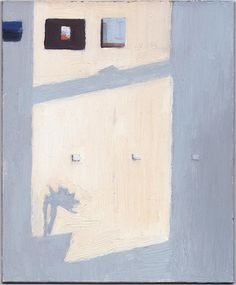"""basquiatwowo: """"Eleanor Ray, Light on the wall, 2014 """" Painting Inspiration, Art Inspo, Images Esthétiques, Paintings I Love, Art Plastique, Interior Paint, Contemporary Paintings, Figurative Art, Painting & Drawing"""