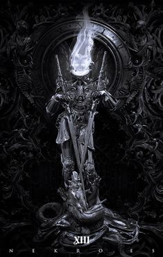 These truly stunning sci-fi digital images were the creation of Spanish illustrator and digital artist Nekro. Created in a unique style and with a combination of colour and elegant baroque design. Beautiful Fantasy Art, Dark Fantasy Art, Fantasy Artwork, Dark Art, Character Art, Character Design, Satanic Art, Arte Obscura, Baroque Design
