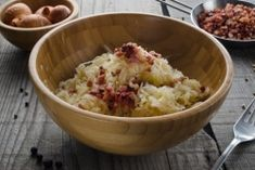 Sauerkraut Recipe - Ich Koche - this is the link to the English translation of the original post in German Yummy Recipes, Side Dish Recipes, Healthy Recipes, Main Dishes, Side Dishes, Austrian Recipes, German Recipes, Sauerkraut Recipes, Food Trends