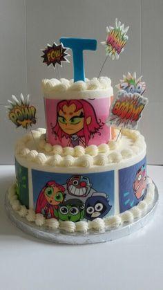Teen titan cake