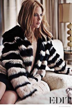 nicole kidman 2014 fashion shoot02 Nicole Kidman Poses for the Edit, Talks Tom Cruise Divorce