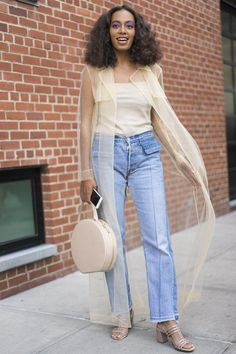 078ca54b49c Layered Under a Dress — and 25 Other Creative Ways to Rock Your Jeans This  Fall