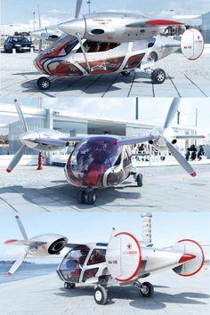 «Aero G» russian mini-helicopter concept by Pirozhkov & Khachapuridze / astrarossadesign.ru