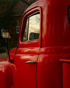 Country Red Truck