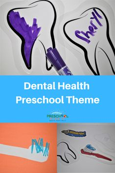 FREE Preschool Dental Health Theme activities for your preschool program!  Click here for a full week's worth of activities!
