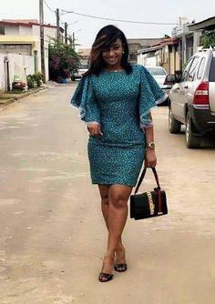 African Dresses For Kids, African Wear Dresses, Latest African Fashion Dresses, African Print Fashion, Africa Fashion, African Attire, Short Ankara Dresses, African Fashion Traditional, African Print Dress Designs