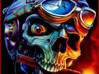 1000+ images about skull1⃣8⃣7⃣ on Pinterest | Digital art, Human skull and Masks