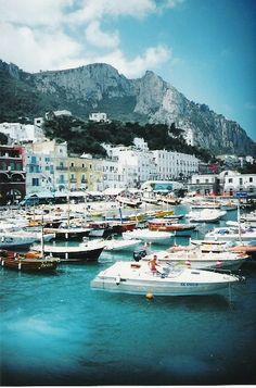 Capri, Napoles, Italia