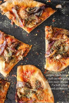 Vegan naan pizza is a healthy, fun, and delicious weeknight meal that the entire family will love. Plus, a free plant-based cookbook! via @gratefulgrazer