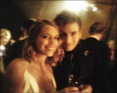 david tennant and billie piper hugging | savingdoctorwho:David Tennant and Billie Piper at Billie's wedding.I ...