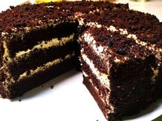 Today I prepared a chocolate cake for you with step-by-step instructions. Chocolate cake can be prepared for any occasion. The cake is very tasty and easy to prepare. How To Make Chocolate, Chocolate Cake, Most Satisfying, Tasty, Yummy Food, Step By Step Instructions, No Cook Meals, Deserts, Sweets