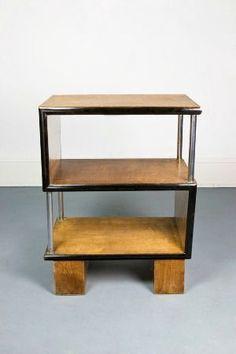 Art Deco open locker & Art Deco piano stool with leather seat | cross collection ... islam-shia.org