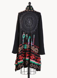 I want this bad! Mescalero Wrap | Women's Outerwear | Biya by Johnny Was