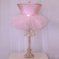 Tutu Lamp from PoshTots  #PoshTotsNursery