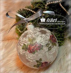 Стекло рождественские украшения - с прозрачной звездой