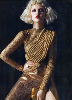 Lindsey Wixson in Rodarte by Steven Meisel for Vogue Italia April 2011.