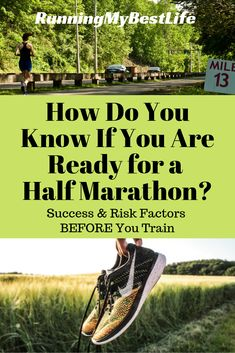 Trying to figure out if you are ready to tackle the half marathon distance? Sort out your risk and success factors to determine if now is the time to start training for your first half marathon. One Song Workouts, Mini Workouts, Running Workouts, Running Tips, Running Training, Cheer Workouts, Workout Songs, Road Running, Marathon Training For Beginners