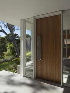 Front Door, Skirt + Rock House by MCK Architects