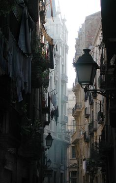 """""""El Born"""" is a neighborhood in the heart of Barcelona, Spain. You can find the original version of this picture here"""