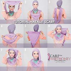 How to wear scarf. easy way to wear hijab with gown.Hijab style step by step tutorials. Pashmina Hijab Tutorial, Hijab Wedding Dresses, Hijab Bride, Turban Hijab, Leopard Fashion, Hijab Fashion Inspiration, Turban Style, Islamic Fashion, Loop Scarf