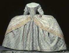 Court dress of Louisa Ulrika of Sweden, c. 1751